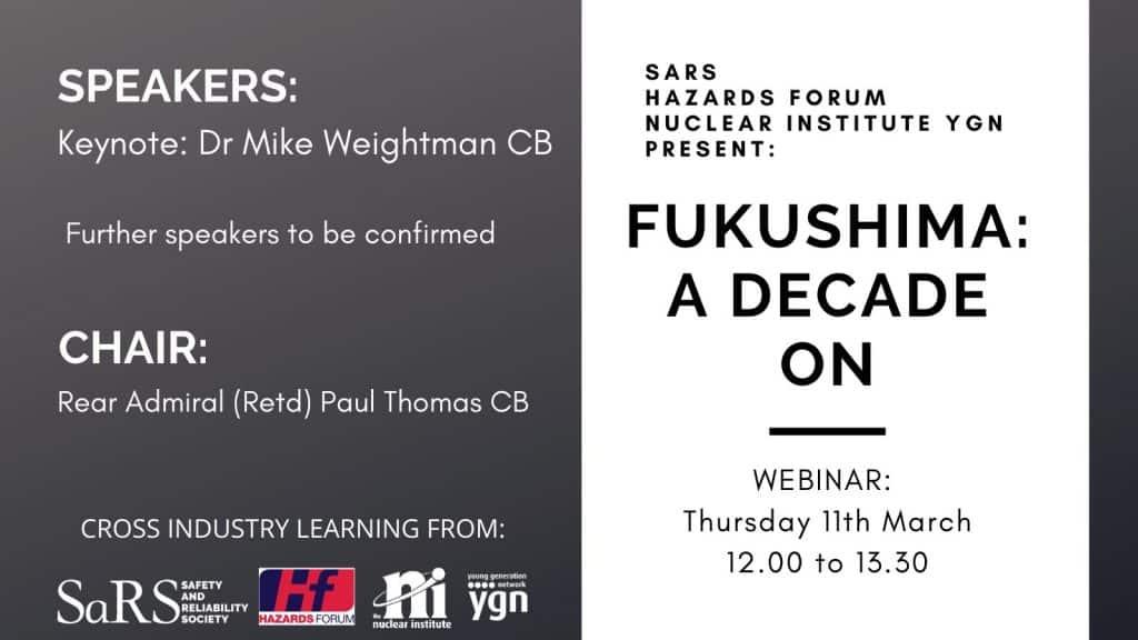 Fukushima - a decade on